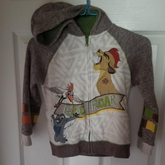 The Lion Guard Toddler Boys Puffer Vest /& Top Set Size 2T 3T 4T